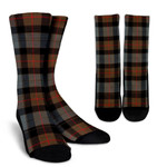 Scottish Gunn Weathered Clan Tartan Socks - BN