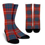 Scottish Hamilton Ancient Clan Tartan Socks - BN