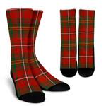Scottish Hay Ancient Clan Tartan Socks - BN