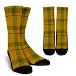 Scottish Houston Clan Tartan Socks - BN