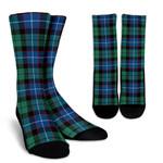 Scottish Hunter Ancient Clan Tartan Socks - BN