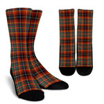 Scottish Innes Ancient Clan Tartan Socks - BN
