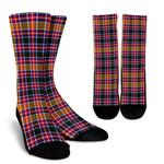 Scottish Jacobite Clan Tartan Socks - BN