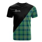 Scottish Kennedy Ancient Clan Badge T-Shirt Military - K23