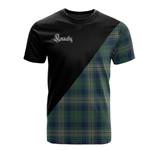 Scottish Kennedy Modern Clan Badge T-Shirt Military - K23
