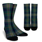 Scottish Kennedy Modern Clan Tartan Socks - BN
