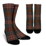 Scottish Kennedy Weathered Clan Tartan Socks - BN