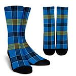 Scottish Laing Clan Tartan Socks - BN
