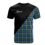 Scottish Lamont Ancient Clan Badge T-Shirt Military - K23