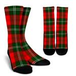 Scottish Lennox Modern Clan Tartan Socks - BN