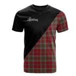 Scottish Lindsay Weathered Clan Badge T-Shirt Military - K23