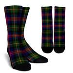 Scottish Logan Modern Clan Tartan Socks - BN