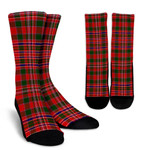 Scottish MacAlister Modern Clan Tartan Socks - BN