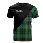 Scottish MacArthur Ancient Clan Badge T-Shirt Military - K23