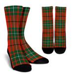 Scottish MacAulay Ancient Clan Tartan Socks - BN