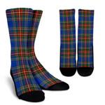 Scottish MacBeth Ancient Clan Tartan Socks - BN