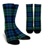 Scottish MacCallum Ancient Clan Tartan Socks - BN