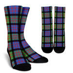 Scottish MacDonald Ancient Clan Tartan Socks - BN