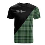 Scottish MacDonald Lord of the Isles Hunting Clan Badge T-Shirt Military - K23
