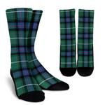Scottish MacDonald of the Isles Hunting Ancient Clan Tartan Socks - BN