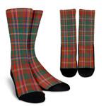 Scottish MacDougall Ancient Clan Tartan Socks - BN
