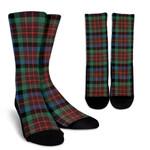 Scottish MacDuff Hunting Ancient Clan Tartan Socks - BN