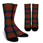 Scottish MacDuff Hunting Modern Clan Tartan Socks - BN