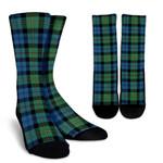 Scottish MacEwen Ancient Clan Tartan Socks - BN