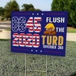 Yard Sign - 8645 - Anti Trump Sign, Anti-Trump POTUS Vote Sign, Political Sign, Anti Trump Sign - Family Presents - Great Blanket, Canvas, Clothe, Gifts For Family