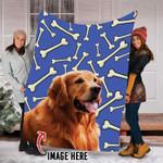 Custom Dog Blanket- Fleece Blanket - Family Presents - Great Blanket, Canvas, Clothe, Gifts For Family