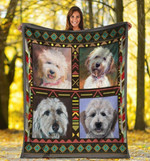 Dog Blanket Funny Cute Goldendoodle Doodle Dog Lover Gift Fleece Blanket - Family Presents - Great Blanket, Canvas, Clothe, Gifts For Family