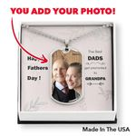Dog Tag For Granpa with Gift Box Card