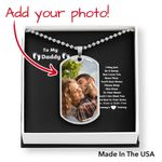 Personalized Father's Day Necklace - Gift For Dad From Unborn Baby -  Silver Pendant Necklace, New Dad Gift, Baby Bump Gift