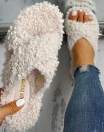 New Flip-flops Ladies Cotton Slippers