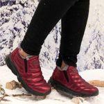 Women's Warm Flat Comfortable Snow Boots