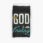 Thank God, It'S Friday 3D Personalized Customized Duvet Cover Bedding Sets Bedset Bedroom Set