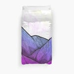 Early Morning Mountains 3D Personalized Customized Duvet Cover Bedding Sets Bedset Bedroom Set