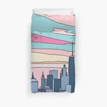 City Sunset By Elebea 3D Personalized Customized Duvet Cover Bedding Sets Bedset Bedroom Set