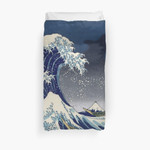 Great Wave: Kanagawa Night 3D Personalized Customized Duvet Cover Bedding Sets Bedset Bedroom Set