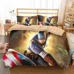 Captain America #1 3D Personalized Customized Bedding Sets Duvet Cover Bedroom Sets Bedset Bedlinen