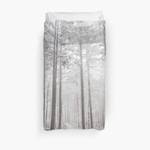 Mysterious Road In A Frozen Foggy Forest 3D Personalized Customized Duvet Cover Bedding Sets Bedset Bedroom Set