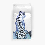 Ombre Tiger Moon 3D Personalized Customized Duvet Cover Bedding Sets Bedset Bedroom Set