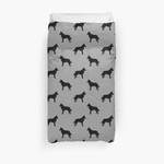 Belgian Malinois Silhouette(S) 3D Personalized Customized Duvet Cover Bedding Sets Bedset Bedroom Set