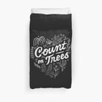 Count On Trees 3D Personalized Customized Duvet Cover Bedding Sets Bedset Bedroom Set