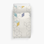 Keziah - Day X Scandinavian Geometric Pattern 3D Personalized Customized Duvet Cover Bedding Sets Bedset Bedroom Set