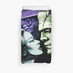 Bride & Frankie Monsters In Love 3D Personalized Customized Duvet Cover Bedding Sets Bedset Bedroom Set