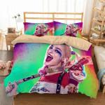 Harley Quinn #5 3D Personalized Customized Bedding Sets Duvet Cover Bedroom Sets Bedset Bedlinen