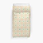 Old Floral Tiles 3D Personalized Customized Duvet Cover Bedding Sets Bedset Bedroom Set