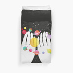 My Solar System 3D Personalized Customized Duvet Cover Bedding Sets Bedset Bedroom Set