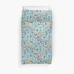 Proud To Be A Nurse / Surface Pattern Design / Blue 3D Personalized Customized Duvet Cover Bedding Sets Bedset Bedroom Set